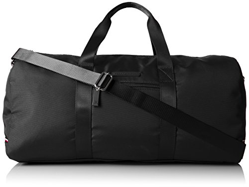 Tommy Hilfiger Alexander Nylon Duffle Bag, Black