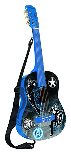 Lexibook 78 Cm Avengers Junior Acoustic Guitar