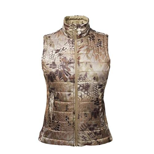 Kryptek Women's Artemis Camo Hunting Vest, Highlander, S by Kryptek