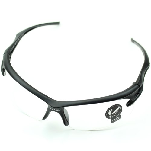 Delight eShop Outdoor Sports Driving Fishing Cycling Running UV400 Sunglasses Eyewear Glasses - Sunglasses Oakley Transparent
