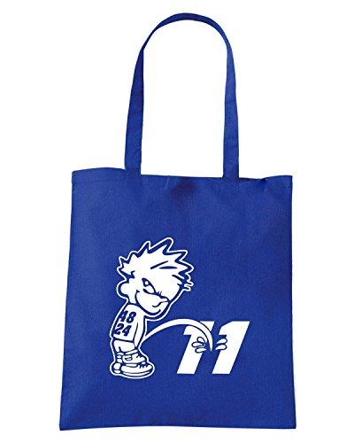 T-Shirtshock - Bolsa para la compra FUN0325 48on11 Azul Real