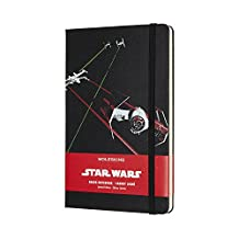 Moleskine Limited Edition Star Wars, Large, Ruled, Ships, Hard Cover (5 x 8.25)