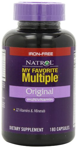 Natrol Favorite Multiple Iron Free Multivitamin
