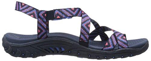 Amp dedo la Pink Skechers pie del de sandalia del del anillo Reggae Navy qxF1WUFO6w