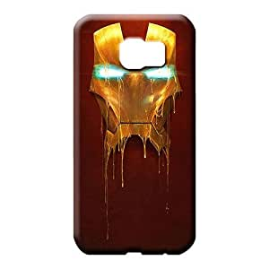 samsung galaxy s6 Sanp On Durable Cases Covers For phone mobile phone covers melting iron man mask