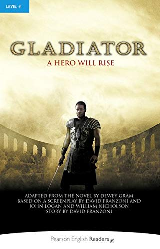 Level 4: Gladiator Book and MP3 Pack (Pearson English Graded Readers)