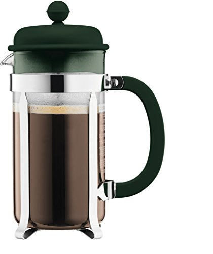Bodum CAFFETTIERA French Press Coffee Maker, 1 L - Dark Green