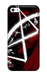 Fashion Tpu Case For Iphone 5/5s- Witch Hunter Robin Anime Other Defender Case Cover