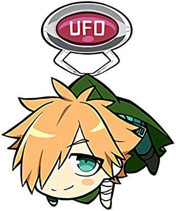 Fate Extella Link Archer Robin Hood Character UFO Tsumamare Acrylic Key Chain