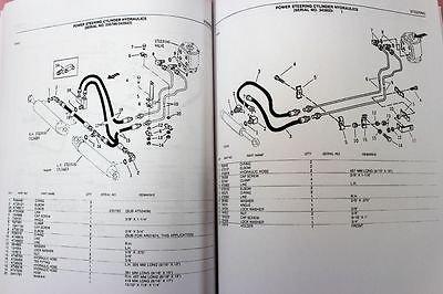 John Deere 410 Backhoe Loader OEM Parts Manual
