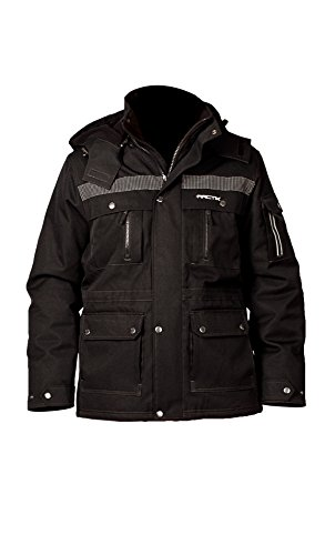 Arctix Men's Performance Tundra Jacket with Added Visibility, Black, XX-Large (Snow Pants Clearance compare prices)