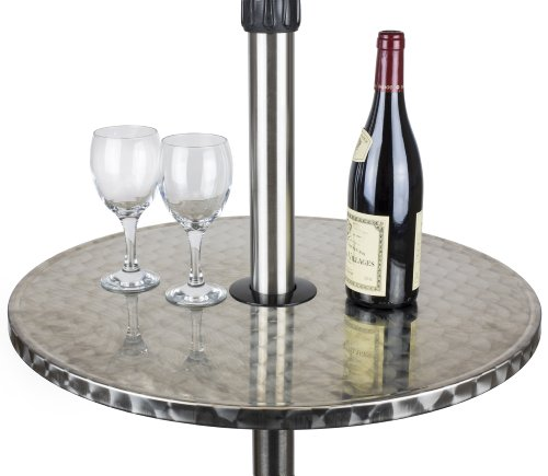 Andrew James Outdoor Patio Heater with 2100W Electric Halogen Element and  Floating Table: Amazon.co.uk: Garden & Outdoors - Andrew James Outdoor Patio Heater With 2100W Electric Halogen