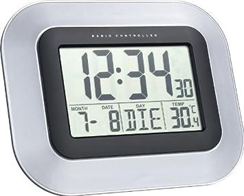 Wanduhren Sinnvoll Dcf Funk-wanduhr Funk-uhr Bad-uhr Badezimmer-uhr Digital Thermometer Display Uhren & Schmuck