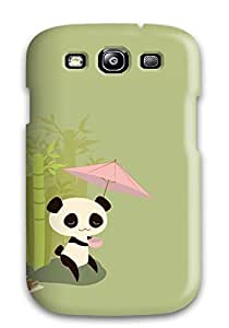 Durable Defender Case For Galaxy S3 Tpu Cover(panda)