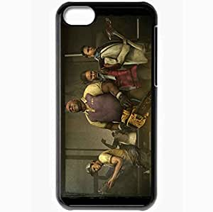 Personalized iPhone 5C Cell phone Case/Cover Skin Left 4 Dead 2 Black