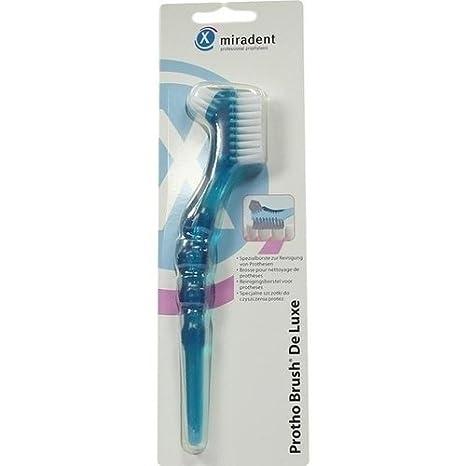 miradent cubitos Cepillo protho Brush Azul Trans. 1 St Cepillo de dientes: Amazon.es: Salud y cuidado personal