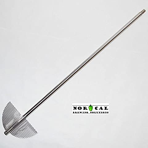 Jaybird Stainless Steel EXTREME Twin Blade Homebrew Beer Brewing Mash Paddle