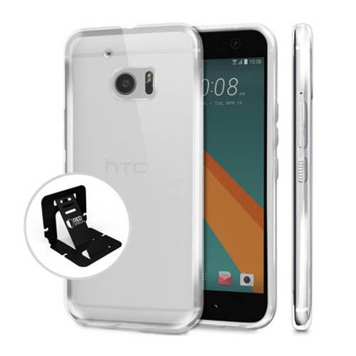 HTC 10 Case, REDshield [Clear] Slim & Flexible Anti-shock Crystal Silicone Protective TPU Gel Skin Case Cover for HTC 10, HTC M10