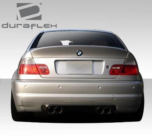 1999-2005 BMW 3 Series M3 E46 2DR Duraflex CSL Look Rear Wing Trunk Lid Spoiler- 1 Piece by Duraflex