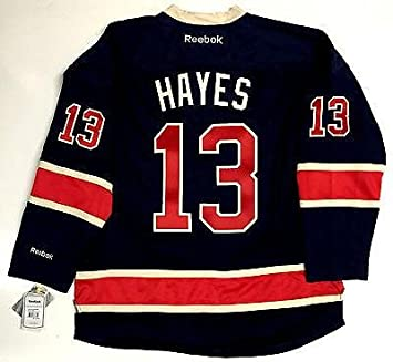 best sneakers 37a14 bb264 Kevin Hayes Signed Jersey - Reebok Nhl Premier Third Tags ...