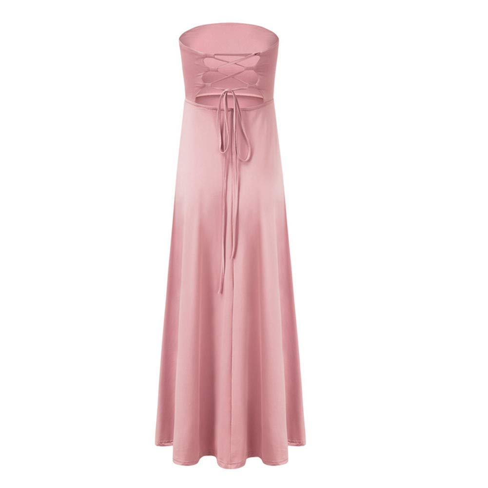 2 Slim Long Dress Long Dress Evening Dress Bridesmaid Dress,4,M