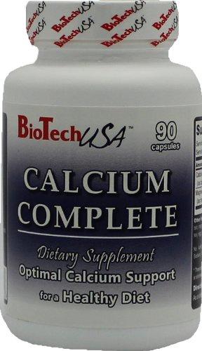 Biotech USA Calcium Complete Vitaminas y Minerales, 90 capsulas, 106 g