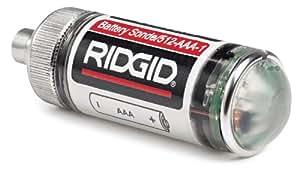 ridgid 16728 remote transmitter 512 hertz sonde for underground pipe location. Black Bedroom Furniture Sets. Home Design Ideas