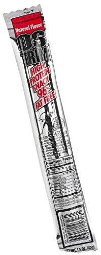 Ostrim Natural Flavor Beef and Ostrich Snack Sticks (1.5 oz stick) - High Protein Natural Flavor Beef and Ostrich Snack Sticks