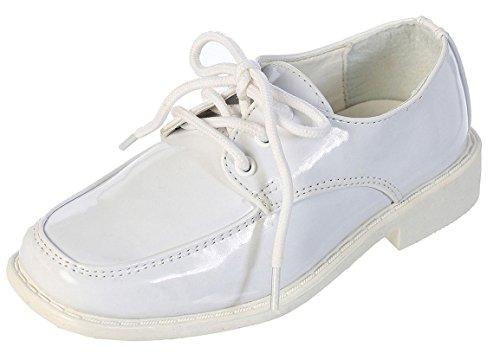 TipTop Patent Dress Oxford Shoes White 01 3 M US Little Kid -