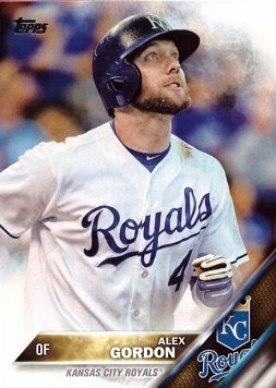 Amazoncom 2016 Topps 206 Alex Gordon Baseball Card