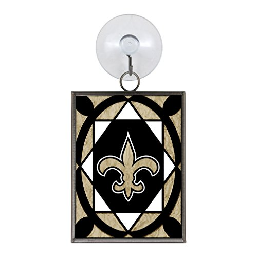 NFL New Orleans Saints Stained Glass (New Orleans Saints Stained Glass)
