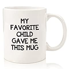 What would this funny mug make a great gift for? Nice Birthday gift for mom or dad from from son or daughter Happy Father's Day gift for dad so you can add some humor to the day Cute Mother's Day gift A great gift for any occasion just to put...