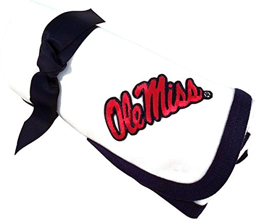 (Future Tailgater Mississippi Ole Miss Rebels Baby Receiving Blanket)