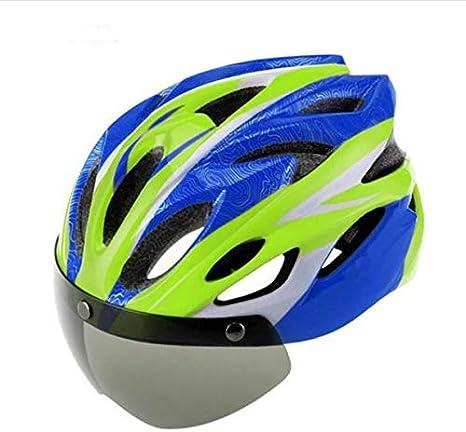 BTAWM Casco Bicicleta Ciclismo Casco EPS + PC Material Ultraligero ...