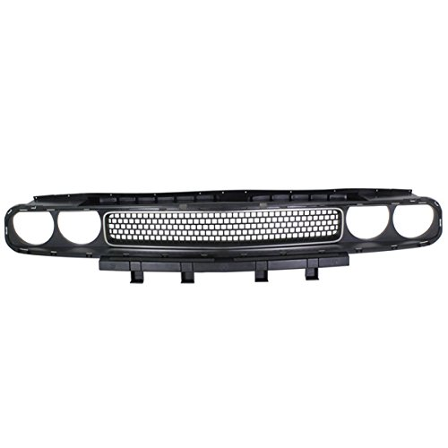 Koolzap For 08-14 Challenger Front Face Bar Bezel Grill Grille Assembly CH1200338 68043388AB (2011 Dodge Challenger Grill)