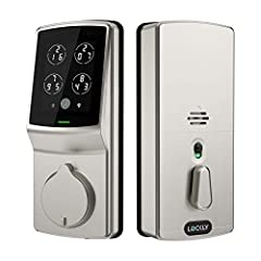 PIN Genie Smart Lock Pro (PGD 728) provides three ways of locking/unlocking the door to accommodate each person's lifestyle, which include touchscreen, smartphone and physical keys, with no more hassle of forgetting or losing keys. PIN Genie ...