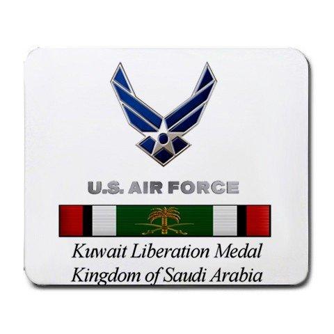 Kuwait Liberation Medal Kingdom of Saudi Arabia Mouse Pad