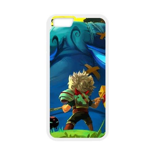 Bastion 2 coque iPhone 6 4.7 Inch cellulaire cas coque de téléphone cas blanche couverture de téléphone portable EOKXLLNCD26939