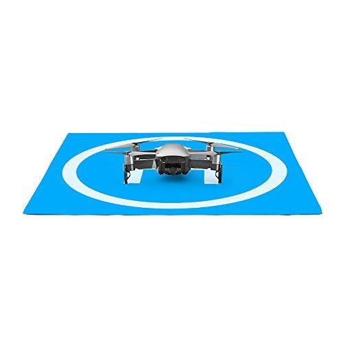 Robotic Air - MoreToys Universal Waterproof 55cm/22'' Portable Foldable Landing Pads for RC Aircraft Drones Helicopter, PVB Drones, DJI Mavic Pro/Air, Spark, Phantom 2/3/4/ Pro, Antel Robotic, More