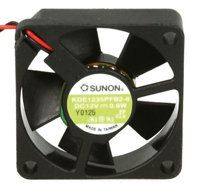 SUNON KDE1235PFB2-8 DC Brushless Tubeaxial Fan with 3