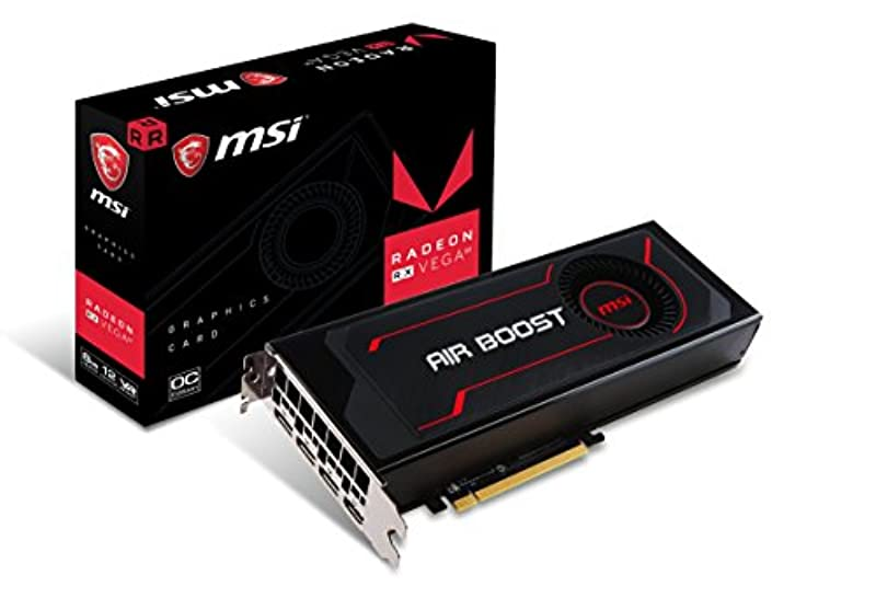 MSI Radeon RX Vega 64 Air Boost 8G OC 그래픽 VD6646