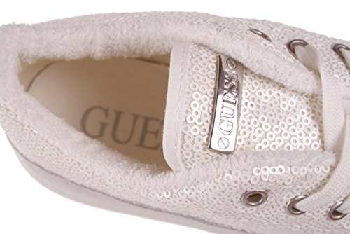 Guess Sneaker Da Stringate Scarpe Bianco Donna xwgHx