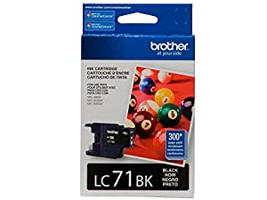 Brother Printer LC71BK Standard Yield Ink from Brother
