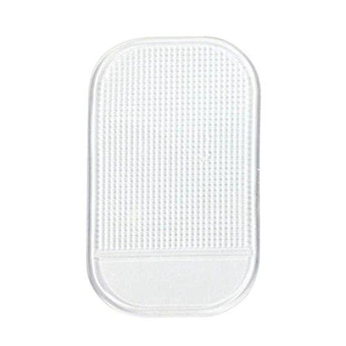 boddenly Esterilla Antideslizante Car Dashboard Sticky Pad antideslizante mágica para teléfono celular soporte, Blanco