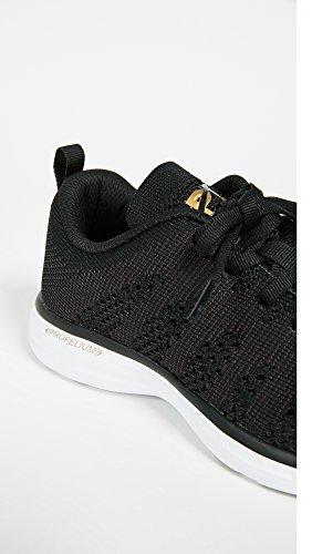 Apl: Atletisk Fremdrift Labs Kvinders Techloom Pro Sneakers Sort / 24k Melange DQ62j7IFS