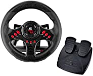 Subsonic SA5426 Racing Wheel Universal with Pedals for Playstation 4, PS4 Slim, PS4 Pro, Xbox One, Xbox One S,