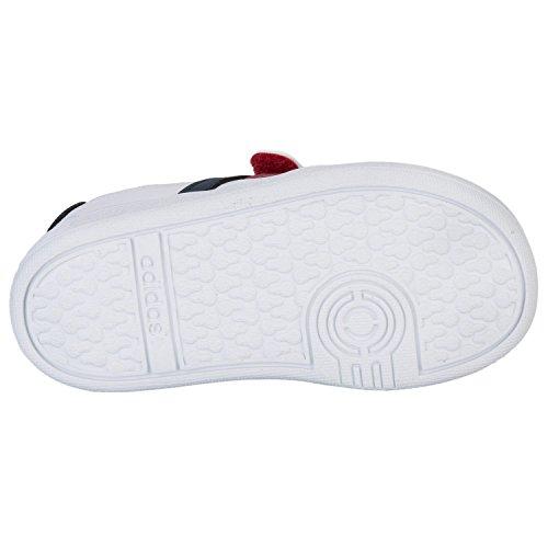 en niños para deporte Adidas de Zapatillas Court de Nidas blanco Vlneo W FzvTwqZx4