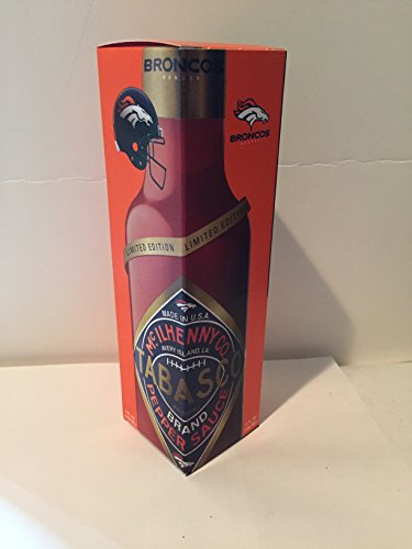Tabasco Brand, Limited Edition Denver Broncos