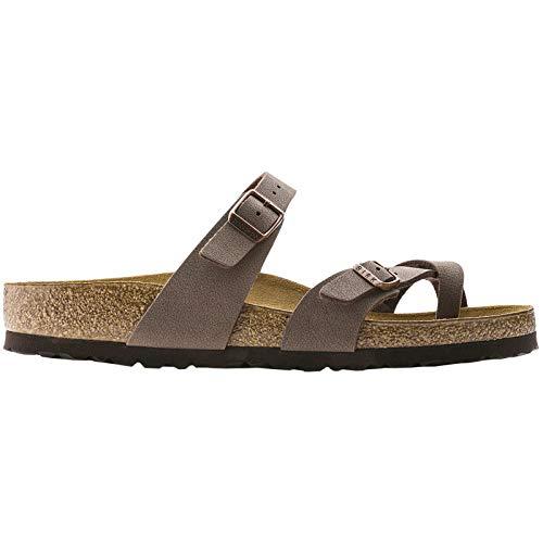 (Birkenstock Women's Mayari Sandal Mocha Birkibuc Size 39 N EU)