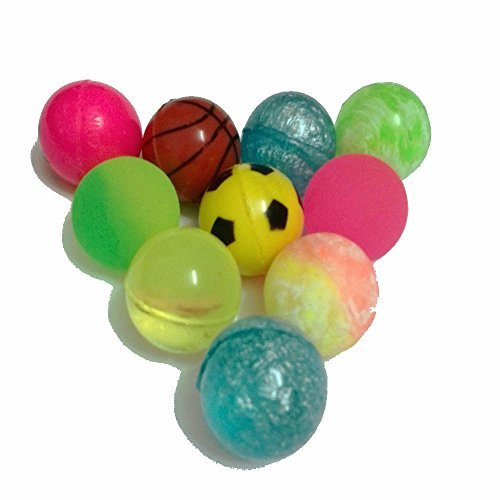 Wholesale Bouncy Ball Toy Mixed Toy Ball Candy Machine Coin Machine Elastic Ball 10 Piece/32 (Wholesale Bouncy Balls)